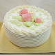 【公開冷凍配送テスト】バタークリームデコレーションケーキ〔クリスマス冷凍配送用〕