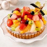 【公開冷凍配送テスト】フルーツのクリスマスベル<フルーツタルト>