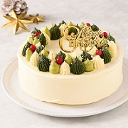「【公開冷凍配送テスト】仮称クリスマスのリース<バタークリームケーキ>」の画像、株式会社コロンバンのモニター・サンプル企画