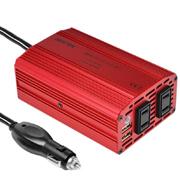 株式会社べステックグループの取り扱い商品「カーインバーター 300W シガーソケット 車載充電器 USB 2ポート ACコ」の画像