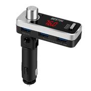 株式会社べステックグループの取り扱い商品「FMトランスミッター Bluetooth 4.2 高音質 音楽ジャンル選択可能 」の画像