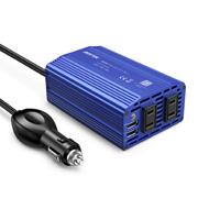 株式会社べステックグループの取り扱い商品「カーインバーター 300W シガーソケット 車載充電器 USB 2ポート 」の画像