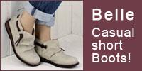 くしゅくしゅブーツ ~ベルのやわらかショートブーツ♪