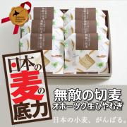 「【日本の麦の底力】『無敵の切麦』オホーツク生ひやむぎ☆20名様に試食モニター!」の画像、日本の麦の底力のモニター・サンプル企画