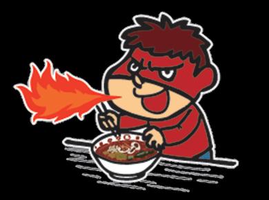 秘密結社鷹の爪コラボ【太陽の鷹の爪麺】
