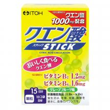 井藤漢方製薬株式会社の取り扱い商品「クエン酸スティック」の画像