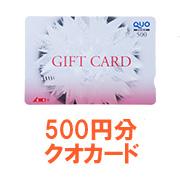 きめやか美研株式会社の取り扱い商品「500円分クオカード」の画像