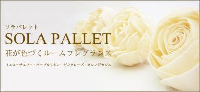 【アロマレガーロ】SOLA PALLET ソラパレット ブルーミングディフューザ