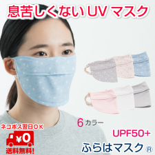 ホワイトビューティー株式会社の取り扱い商品「息苦しくないUVマスク」の画像
