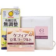 株式会社コルコルの取り扱い商品「ケフィア豆乳ヨーグルト・スターターセット」の画像