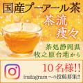 【顔出し可能な方歓迎♪】純国産プーアール茶!顔写真投稿モニター募集/モニター・サンプル企画