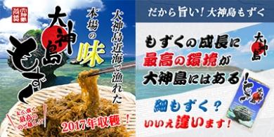 沖縄県大神島産『大神島もずく』