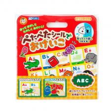 銀鳥産業株式会社の取り扱い商品「ぺたぺたシールでおけいこ ABC」の画像
