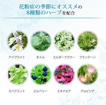 AMOMAアイノーズブレンド~花粉症対策オーガニックハーブティー 配合ハーブ