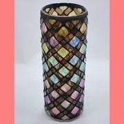 花瓶 モザイクシリンダーM ウェブマルチ