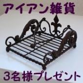 【エリーゼ】輸入アイアン雑貨 ペーパートレイ