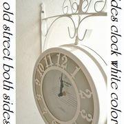 インテリア雑貨エリーゼ アイアン壁飾り 壁掛けおしゃれ時計 新色 プレゼント!
