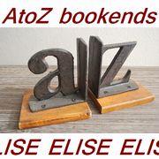 インテリア雑貨ELISE エリーゼ アンティーク風ブックエンドをプレゼント!
