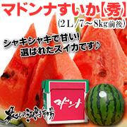 「マドンナすいか」などの北海道物産の通販