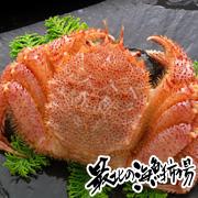 カニ味噌が絶品です!「稚内産浜茹でチルド毛蟹」 『最北の海鮮市場』
