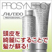 『ほめられ髪は頭皮から♪』 資生堂 プロシナジーシャンプー&トリートメント現品!