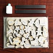 マグネットパークの取り扱い商品「磁石で飾る手作り木工プレート【サンプル】」の画像