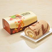 「秋を感じる味わい「キャラメルマロンロールケーキ」10名様にプレゼ ント」の画像、石屋製菓のモニター・サンプル企画