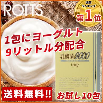 特許乳酸菌FK-23菌配合 ROTTS-1 乳酸菌9000 お試し10包