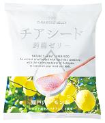 株式会社若翔の取り扱い商品「チアシード蒟蒻ゼリー 瀬戸内レモン味」の画像