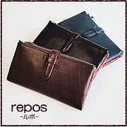 【C COMPANY】 イタリアンレザーを贅沢に使った大容量の長財布