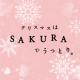 今年のクリスマスはSAKURAでうっとり。セットで50名様にお届け!