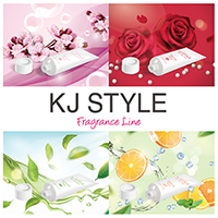 GR株式会社 の取り扱い商品「KJ美脚ジェル/フレグランスライン4種」の画像