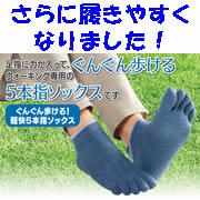 「足指にチカラが入りやすい!だからぐんぐん歩けちゃう!!5本指ウォーキングソックス20名大募集~」の画像、株式会社山忠のモニター・サンプル企画