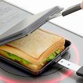 【お家でごちそうホットサンド】IH電磁調理器にも対応!キャンプにもおススメ「両面エンボス鉄製トースターパン」/モニター・サンプル企画
