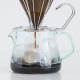 【モニター募集】ガラスのように透明な、割れないコーヒーサーバー 400ml