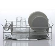 「【モニター募集】箸置き一体のスッキリ設計!薄いお皿も立てられる「水切りバスケット」」の画像、下村企販株式会社のモニター・サンプル企画
