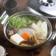 【モニター募集】1~2人前にちょうどい!鍋焼きうどんや寄せ鍋にIHに対応ステンレス鍋!