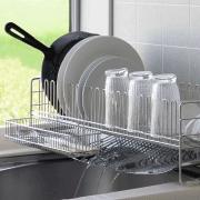 「【モニター募集】お皿をサッと立てられて、早く乾く!水切りバスケット」の画像、下村企販株式会社のモニター・サンプル企画
