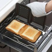 【モニター募集】一度に食パン4枚プレスできる!グリルdeクック ホットサンドパン
