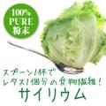 話題の食物繊維「天然サイリウム 100%純粉末(試供品)」を30名様に♪/モニター・サンプル企画