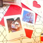 「バレンタイン特集♥お気に入りの写真をシール・キーホルダーにしよう★オリジナルグッズ制作モニター募集!」の画像、ニューアーチデザイニング株式会社のモニター・サンプル企画