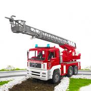 はたらくくるまの知育玩具♪ブルーダー MAN消防車モニター募集!(5名)