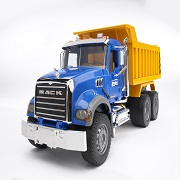 「はたらくくるまの知育玩具♪ブルーダー MACK Tip upトラック募集!(5名)」の画像、株式会社 ジョブインターナショナルのモニター・サンプル企画