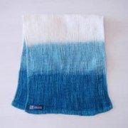 今治タオル(綿100%) 藍染め雑貨:あいあるタオル:段染め