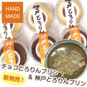 【ハンドメイド】新発売☆チョコとろりんプリン&神戸とろりんプリン(合計6個)