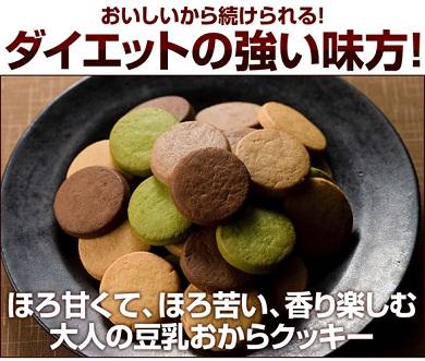 ダイエットの味方に【豆乳おからクッキー BITTER】