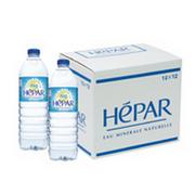 株式会社大香 の取り扱い商品「<フランス産超硬水>プレミアム・ミネラルウォーター HEPAR(エパー)」の画像