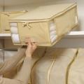 衣類や寝具の衣替えにおすすめ★高い所への収納がラクラク!軽くて安心の不織布ケース/モニター・サンプル企画