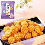 もち吉★新発売★一口サイズの美味しい揚げせんべいができました!【姫揚げ しょうゆ味 平袋】15名様!