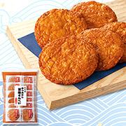 株式会社もち吉の取り扱い商品「かつおだし醤油せんべい」の画像
